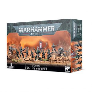 Games Workshop Warhammer 40,000  Drukhari Drukhari Kabalite Warriors - 99120112045 - 5011921155828