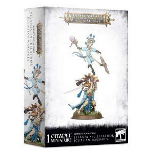 Games Workshop Age of Sigmar  Lumineth Realm-lords Lumineth Realm-lords Ellania and Ellathor, Eclipsian Warsages - 99120210029 - 5011921128228
