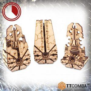 TTCombat   Sci Fi Gothic (28-32mm) Supremacy Monoliths - TTSCW-SFG-106 - 5060880910436