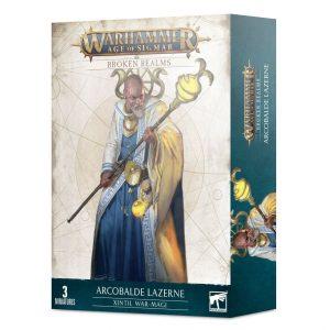 Games Workshop Age of Sigmar  Broken Realms Broken Realms: Arcobalde Lazerne – Xintil War-Magi - 99120299069 - 5011921146048