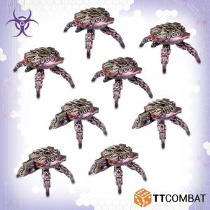 TTCombat Dropzone Commander  Scourge Land Vehicles Scourge Prowler Spider Drones - TTDZR-SCG-014 - 5060880910931