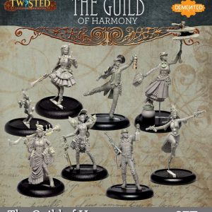 Demented Games Twisted: A Steampunk Skirmish Game  Twisted Essentials Guild of Harmony Set 1 - RGM901 -