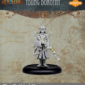 Demented Games Twisted: A Steampunk Skirmish Game  Guild of Harmony Young Dorothy (Metal) - RGM200 -