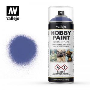 Vallejo   Spray Paint AV Spray Primer: Fantasy Color - Ultramarine Blue 400ml - VAL28017 - 8429551280174