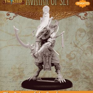 Demented Games Twisted: A Steampunk Skirmish Game  Scions of the Sands Avatar of Set (Metal) - REM006 -