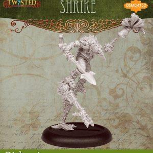 Demented Games Twisted: A Steampunk Skirmish Game  Dickensians Urkin Shrike (Metal) - RDM205 -