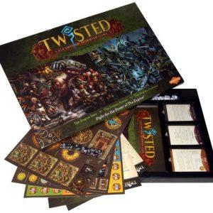 Demented Games Twisted: A Steampunk Skirmish Game  Twisted Essentials Twisted Rulebook Box - RPR001 - testean