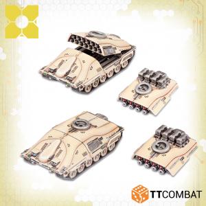 TTCombat Dropzone Commander  PHR Land Vehicles PHR Taranis Artillery Tanks - TTDZR-PHR-013 - 5060880911044