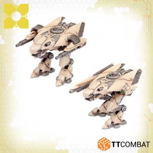 TTCombat Dropzone Commander  PHR Land Vehicles Odin Heavy Walkers - TTDZR-PHR-009 - 5060880911013