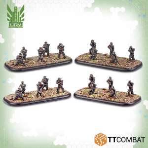 TTCombat Dropzone Commander  UCM Infantry UCM Praetorian Spec-Ops - TTDZR-UCM-011 - 5060880910771