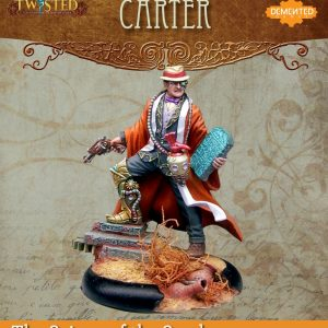 Demented Games Twisted: A Steampunk Skirmish Game  Scions of the Sands Carter (Resin) - RER001 -