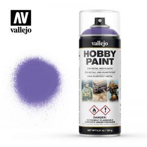 Vallejo   Spray Paint AV Spray Primer: Fantasy Color - Alien Purple 400ml - VAL28025 - 8429551280259