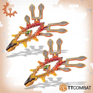 TTCombat Dropzone Commander  Shaltari Gates Shaltari Spirit Light Gates - TTDZR-SHL-015 - 5060880911174