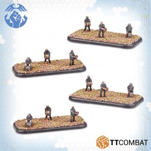 TTCombat Dropzone Commander  Resistance Infantry Resistance Sappers - TTDZR-RES-024 - 5060880911341