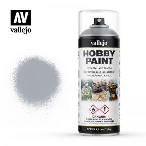 Vallejo   Spray Paint AV Spray Primer: Fantasy Color - Silver 400ml - VAL28021 - 8429551280211