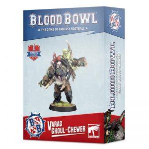 Games Workshop Blood Bowl  Blood Bowl Blood Bowl: Varag Ghoul-chewer - 99120999009 - 5011921139378