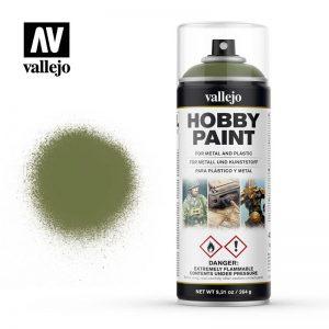 Vallejo   Spray Paint AV Spray Primer: Fantasy Color - Goblin Green 400ml - VAL28027 - 8429551280273