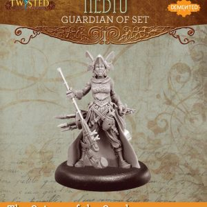 Demented Games Twisted: A Steampunk Skirmish Game  Scions of the Sands Guardian of Set Nomad Nebtu (Resin) - RER103 -