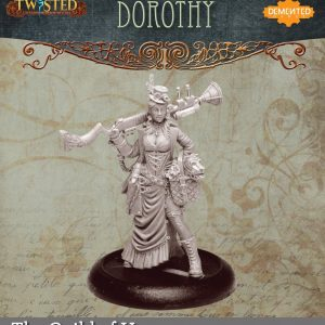 Demented Games Twisted: A Steampunk Skirmish Game  Guild of Harmony Dorothy (Metal) - RGM001 -