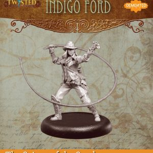 Demented Games Twisted: A Steampunk Skirmish Game  Scions of the Sands Indigo Ford (Metal) - REM004 -
