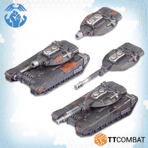 TTCombat Dropzone Commander  Resistance Land Vehicles Resistance Hannibal Tanks - TTDZR-RES-012 - 5060880911259
