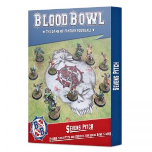 Games Workshop Blood Bowl  Blood Bowl Blood Bowl: Sevens Pitch and Dugouts - 99220999017 - 5011921157402