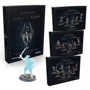 Modiphius The Elder Scrolls: Call to Arms  The Elder Scrolls: Call To Arms Elder Scrolls: Call to Arms Adventure Wargame Starter Bundle - MUH052089 -