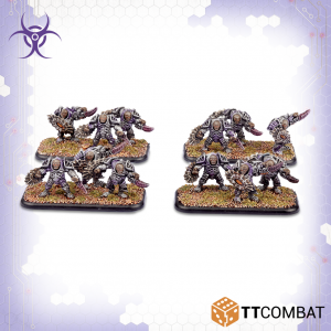 TTCombat Dropzone Commander  Scourge Infantry Scourge Eviscerator Assault Troops - TTDZR-SCG-018 - 5060880910962