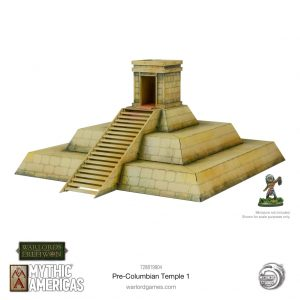 Warlord Games Warlord of Erehwon  Warlords of Erehwon Mythic Americas Pre-Columbian temple - 728819904 - 5060572509719
