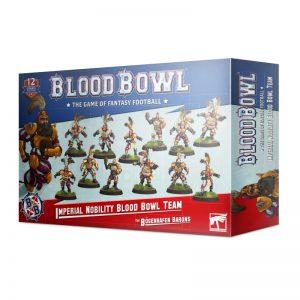 Games Workshop Blood Bowl  Blood Bowl Blood Bowl: The Bögenhafen Barons - Imperial Nobility Team - 99120902002 - 5011921139347