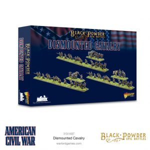 Warlord Games Black Powder Epic Battles  Black Powder Epic Battles Epic Battles: American Civil War Dismounted Cavalry - 312414007 -