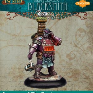 Demented Games Twisted: A Steampunk Skirmish Game  Servants of the Engine Gentlefolk Blacksmith (Metal) - RSM104 -
