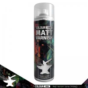 The Colour Forge   Spray Paint Colour Forge Matt Varnish Spray (500ml) - TCF-SPR-004 - 5060843100959