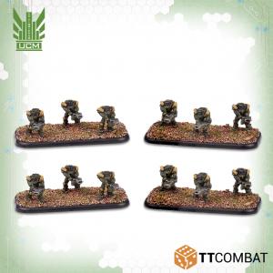 TTCombat Dropzone Commander  UCM Infantry UCM Hazard Suits - TTDZR-UCM-017 - 5060880910818