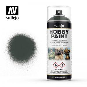Vallejo   Spray Paint AV Spray Primer: Fantasy Color - Dark Green 400ml - VAL28026 - 8429551280266