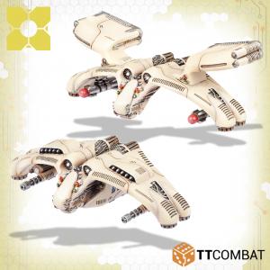 TTCombat Dropzone Commander  PHR Dropships PHR Triton Light Dropships - TTDZR-PHR-012 - 5060880911037