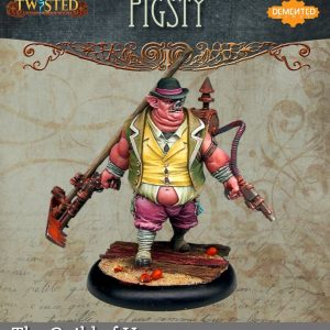 Demented Games Twisted: A Steampunk Skirmish Game  Guild of Harmony Pigsty (Metal) - RGM102 -