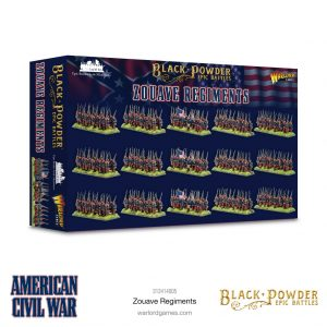 Warlord Games Black Powder Epic Battles  Black Powder Epic Battles Epic Battles: American Civil War Zouaves Regiments - 312414005 -