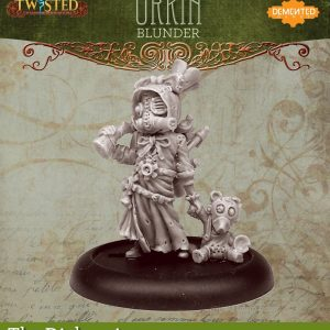 Demented Games Twisted: A Steampunk Skirmish Game  Dickensians Urkin Shooter - Blunder (Resin) - RDR106 -