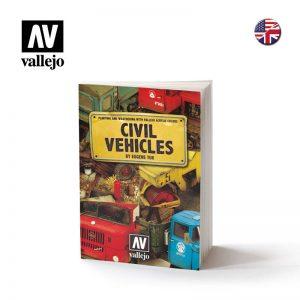 Vallejo   Painting Guides AV Book - Civil Vehicles - VAL75012 - 9788409009879