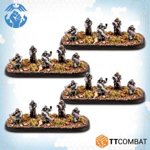 TTCombat Dropzone Commander  Resistance Infantry Resistance Occupation Veterans - TTDZR-RES-007 - 5060880911228
