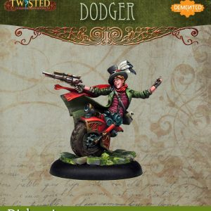 Demented Games Twisted: A Steampunk Skirmish Game  Dickensians Dodger (Metal) - RDM003 -