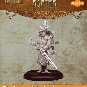 Demented Games Twisted: A Steampunk Skirmish Game  Scions of the Sands Agatha (Metal) - REM002 -