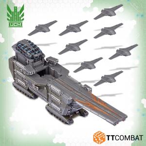 TTCombat Dropzone Commander  UCM Land Vehicles UCM Ferrum Drone Base - TTDZR-UCM-020 - 5060880910849