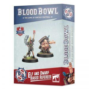 Games Workshop Blood Bowl  Blood Bowl Blood Bowl: Elf and Dwarf Biased Referees - 99120999010 - 5011921145973
