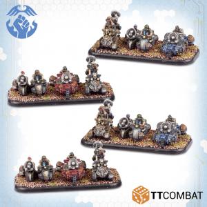 TTCombat Dropzone Commander  Resistance Land Vehicles Resistance Scout ATVs - TTDZR-RES-021 - 5060880911310