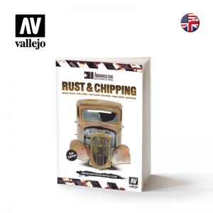 Vallejo   Painting Guides AV Book - Rust & Chipping 100 pages - VAL75011 - 9788461787005