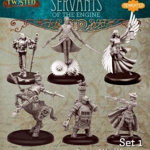 Demented Games Twisted: A Steampunk Skirmish Game  Servants of the Engine Servants of the Engine Box Set 1 - RSM901 -