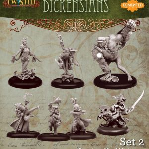 Demented Games Twisted: A Steampunk Skirmish Game  Dickensians Dickensians Box Set 2 - RDM902 -