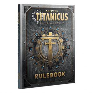 Games Workshop Adeptus Titanicus  Adeptus Titanicus Adeptus Titanicus: Rulebook - 60040399015 - 9781839061028